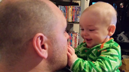 A Letter to My Nail-Biting Pregnant Self loveanddribble.com father son
