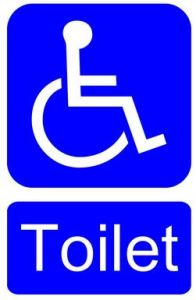 People I Would Gladly High Five. In the Face. With a Jumperoo loveanddribble.com disabled toilet